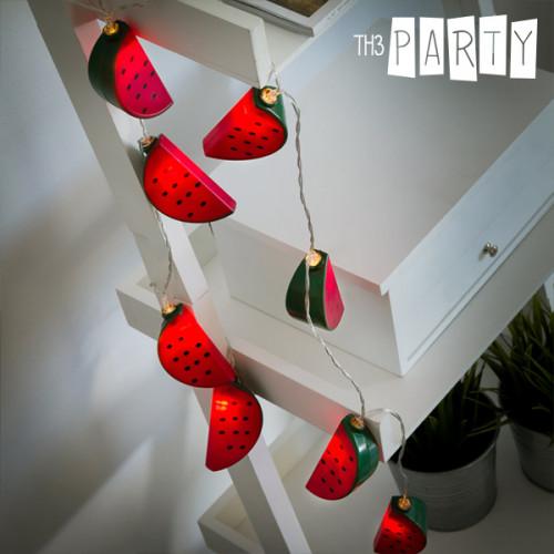 Th3 Party Dinnyék LED Fényfüzér (10 LED)